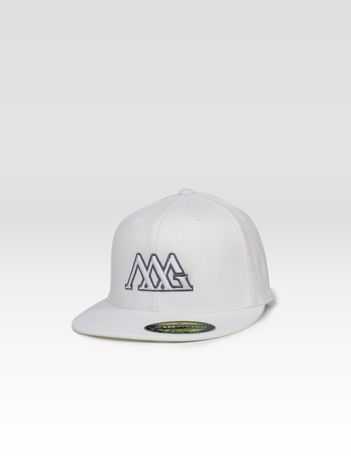 Fitted Tour Cap - White