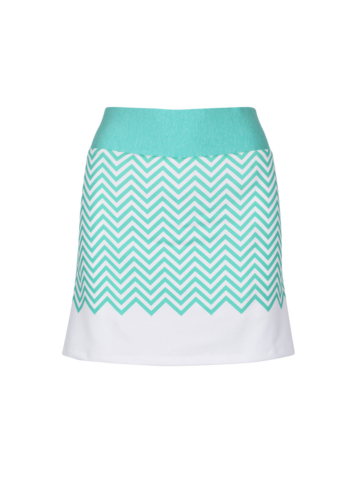 Madison Skort - White (Sprig Leaf)