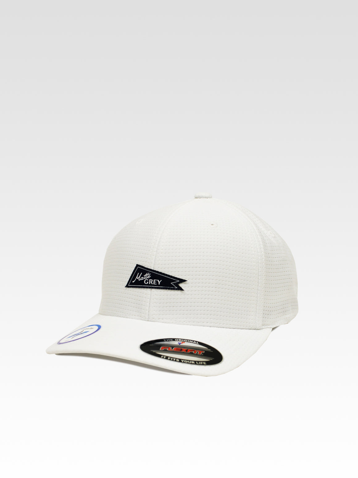 Tricot Flag Sport - White (Navy)
