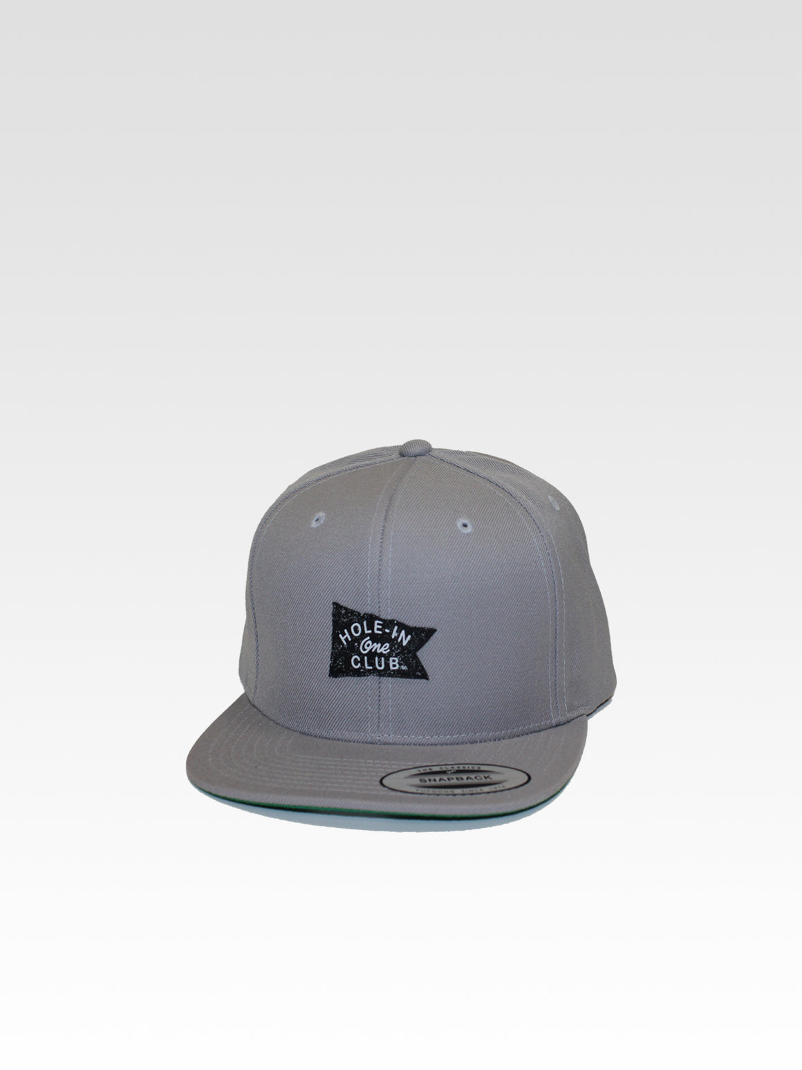Hole-In-One Snapback - Silver