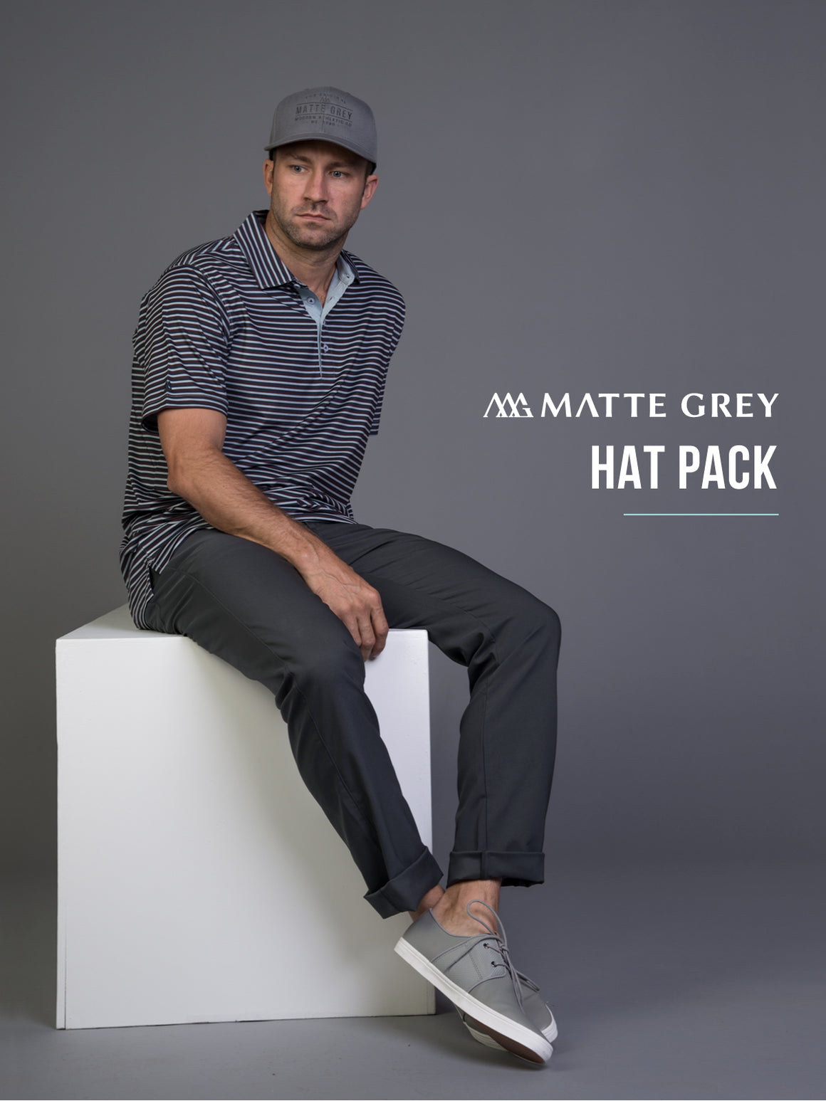 Matte Grey Mystery Hat Pack