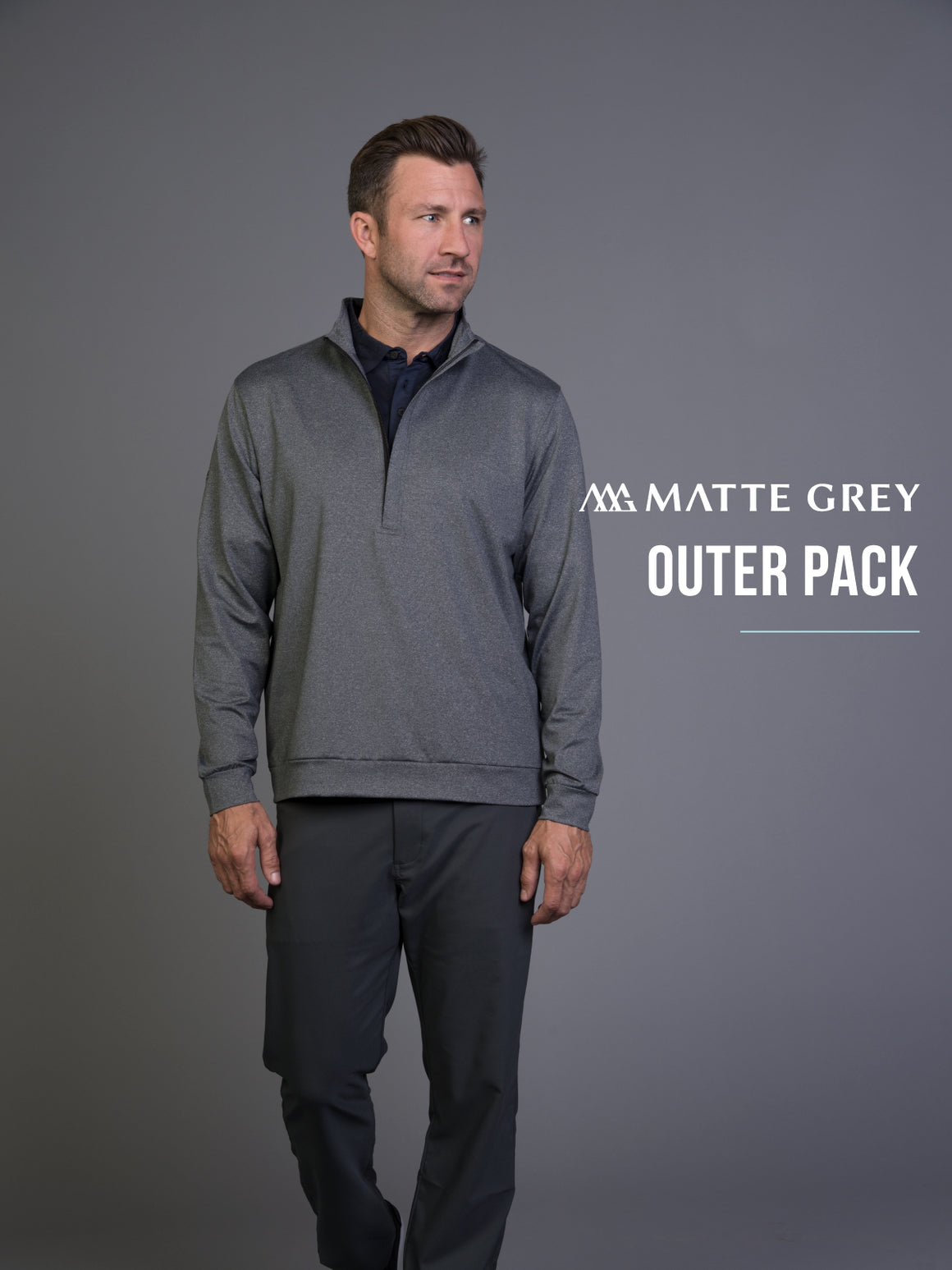 Matte Grey Mystery Outer Pack