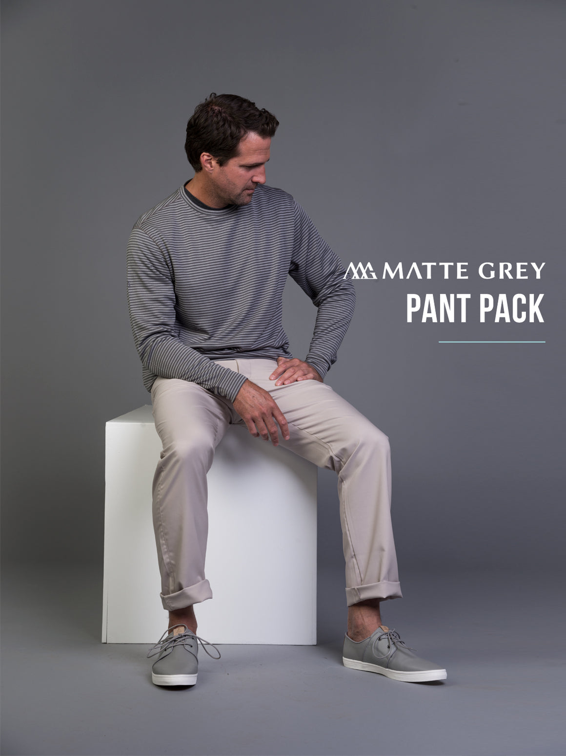 Matte Grey Pant Sample Pack Flash Sale