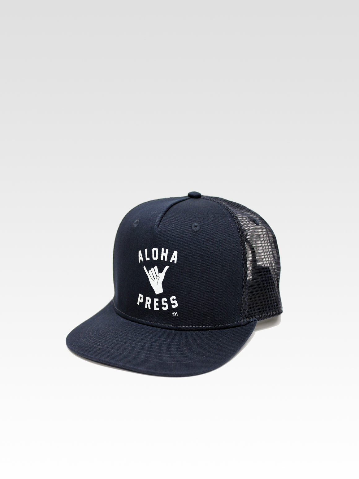 Shaka Trucker - Navy (White)