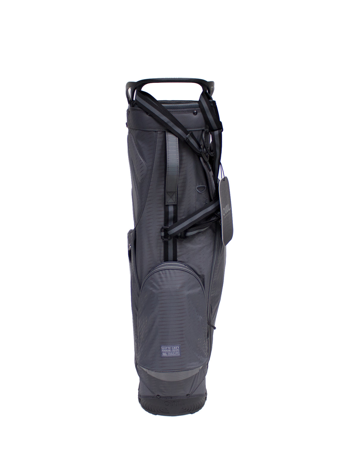 Matte Grey x OUUL Python Golf Bag