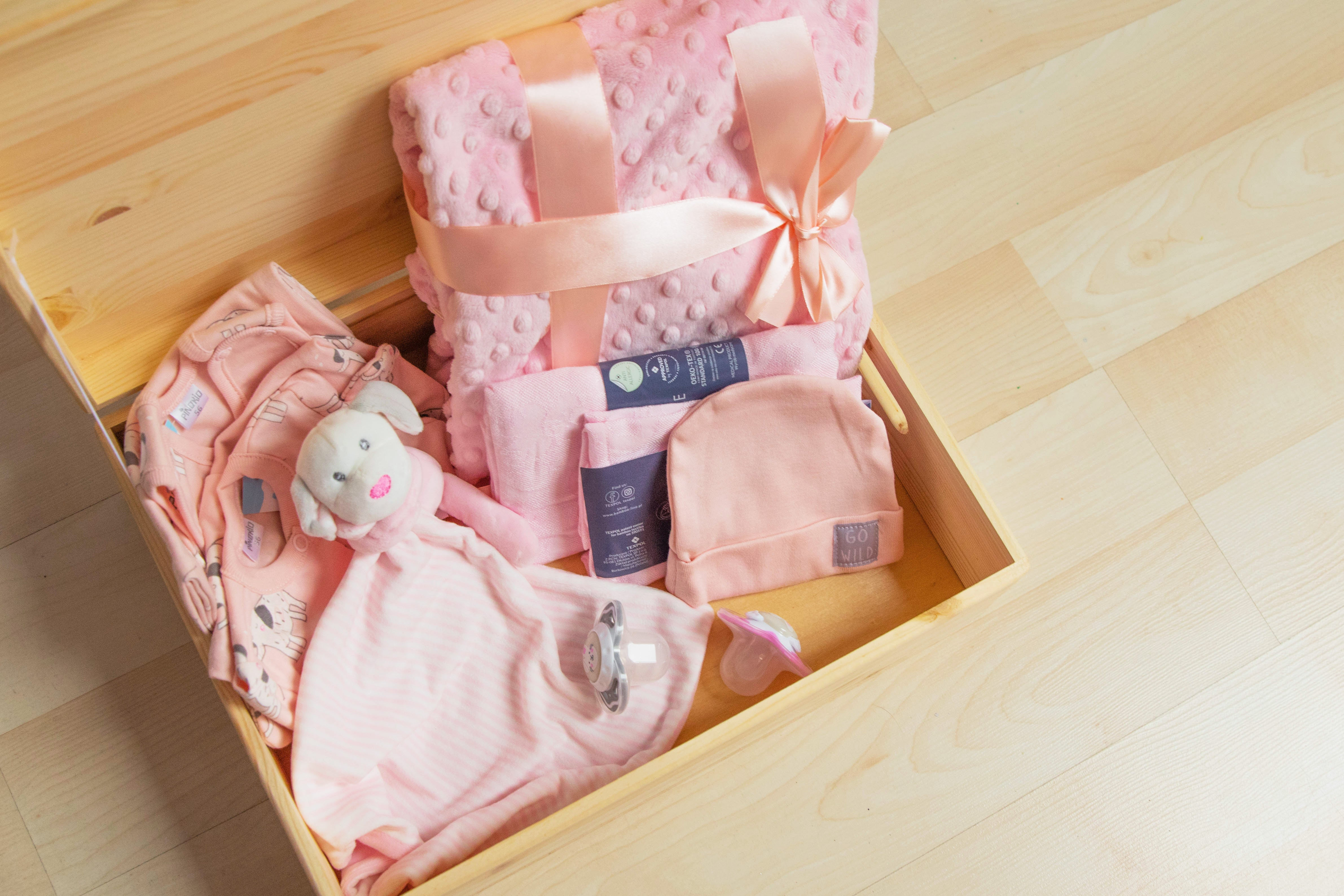 The Cute Baby Box for Baby Girl