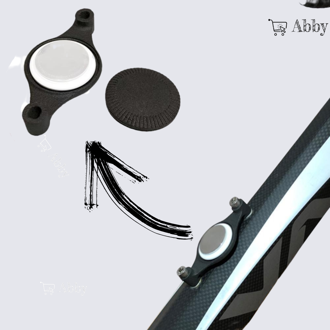 Abby's™ AirTag Bike Mount, Bicycle attachment for Apple AirTag