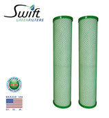 "Swift (SGF20CYST) Replaces Filtrex FX20CYST 20""x 2.75"" CYST Green Block Carbon Filter 1 Micron - The Filters Club"