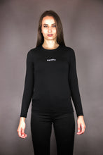 "Load image into Gallery viewer, Longsleeve Tee ""EQUALITY"" - black"