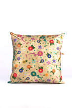 "Load image into Gallery viewer, Pillow ""FLOWERS"" (cover) - beige"