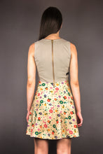 "Load image into Gallery viewer, A-Line Jersey Dress ""MINNA FLOWERS"""