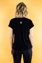 "Load image into Gallery viewer, Mens Tee ""SPACE PRINT"" - black"