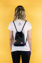 "Load image into Gallery viewer, Mini Gym Bag ""SPACE"" - Black"