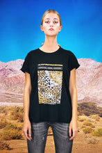 "Load image into Gallery viewer, Oversized Tee ""LEOS.AI"" - black"