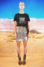 "Load image into Gallery viewer, Mini Wrap Skirt ""LEO"" - all leo"