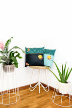 "Load image into Gallery viewer, Pillow ""ARAS"" (cover) - Turquoise"