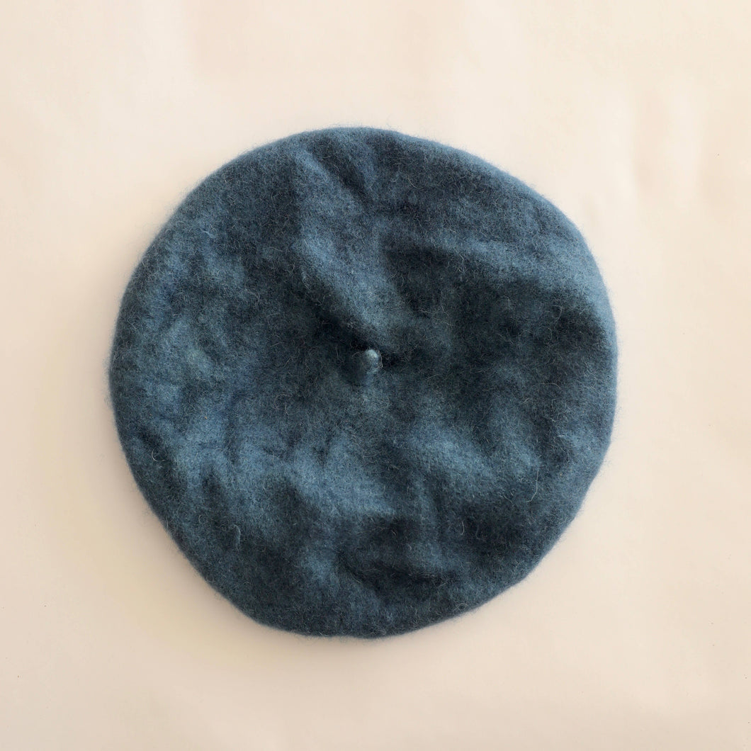 Naturally Dyed Beret