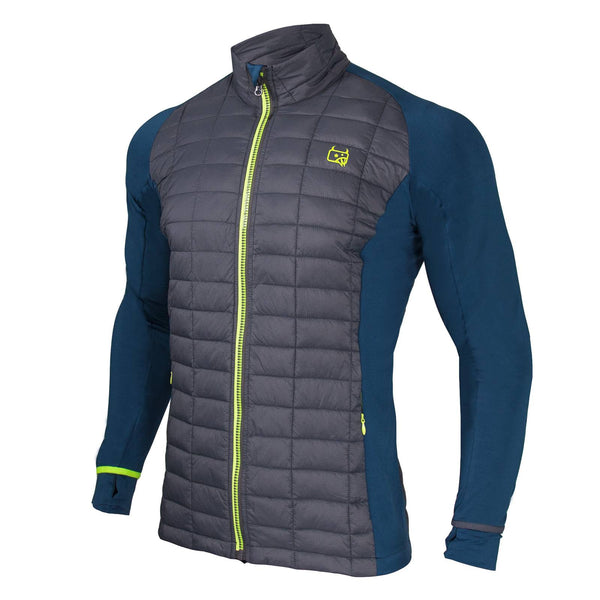 Mens Insulated Hybrid Jacket