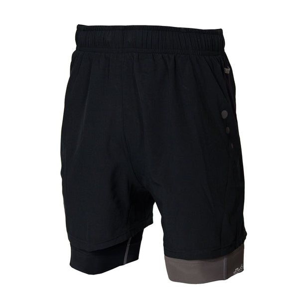 Mens 2-in-1 Running Shorts