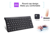 Load image into Gallery viewer, Mini Portable 2.4G Wireless Keyboard