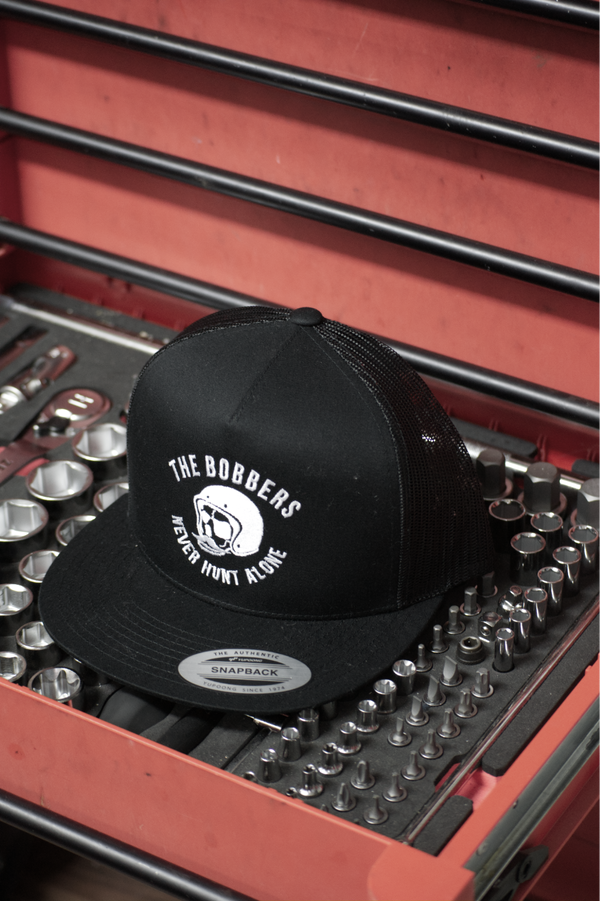 "THE BOBBERS Cap ""NEVER HUNT ALONE"" - The Bobbers GbR"