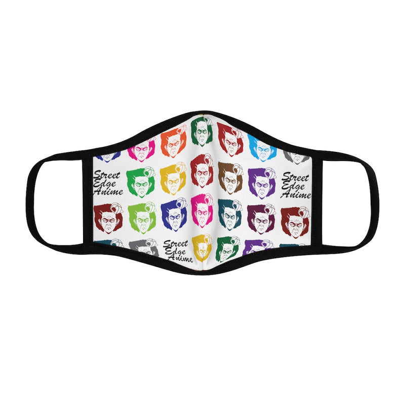 Multi Colored Face Fitted Polyester Face Mask