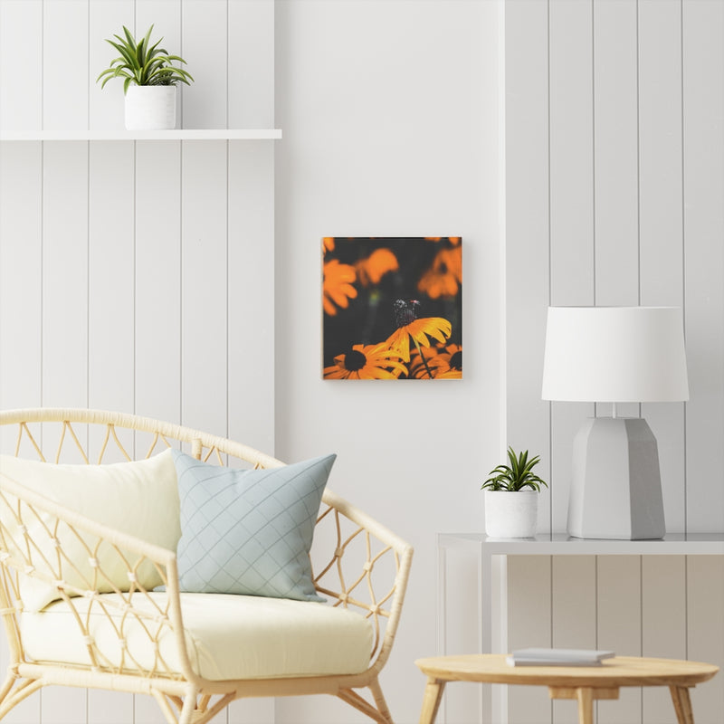 A Small World Wooden Canvas