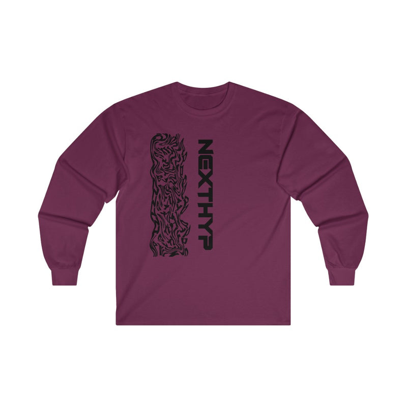 Wavy Long Sleeve Tee