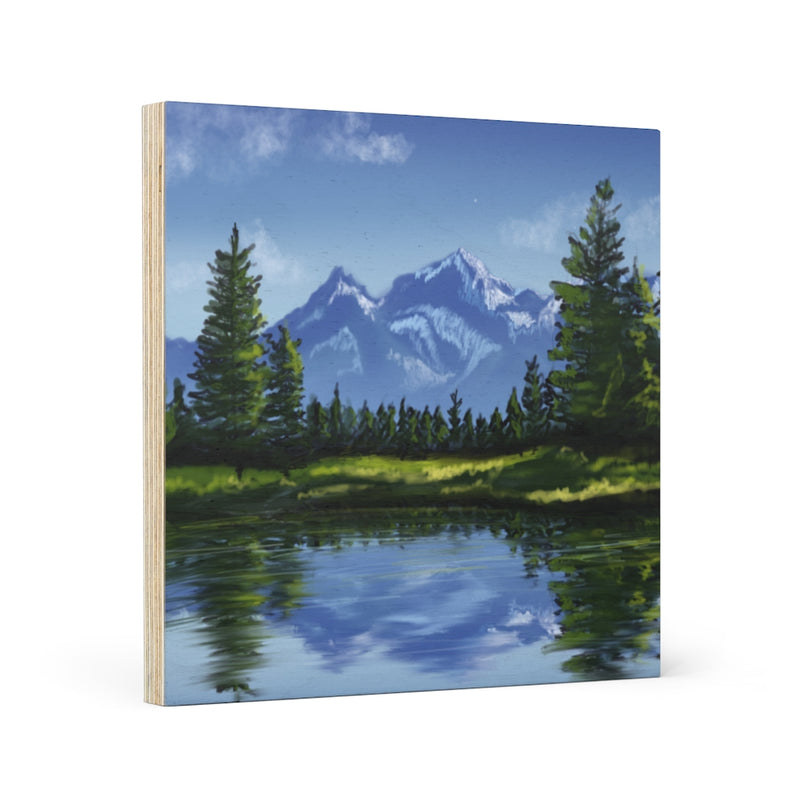 Nature Wood Canvas