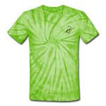Unisex NH Tie Dye T-Shirt - spider lime green