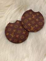 LV Inspired Car Coasters