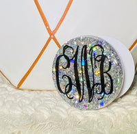 Glitter Monogram Phone Grip