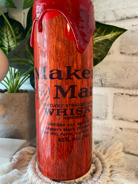 Makers Mark Whiskey Drip Tumbler