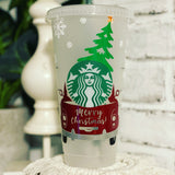 Christmas Red Truck Venti Starbucks Cold Cup