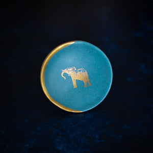 Ring Dish with Elephant