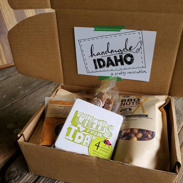 Idaho BBQ Box, local gifts Handmade Idaho