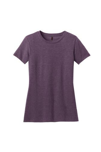 Ladies Idaho Tee - Heathered Eggplant