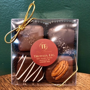 4 Piece Assorted Caramel - Dark