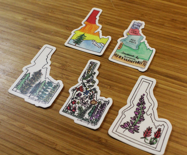 Idahome Sticker Bundle