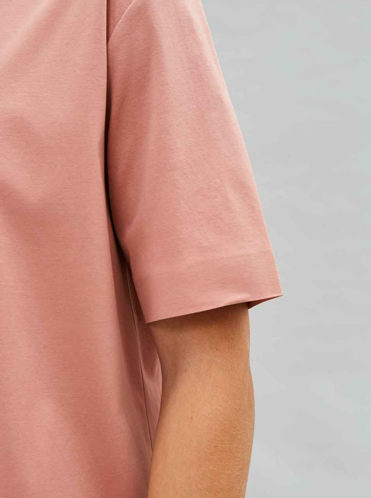 Load image into Gallery viewer, Organic Relaxed Tee in Blush
