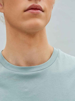 Load image into Gallery viewer, Organic Relaxed Tee in Sea Collar