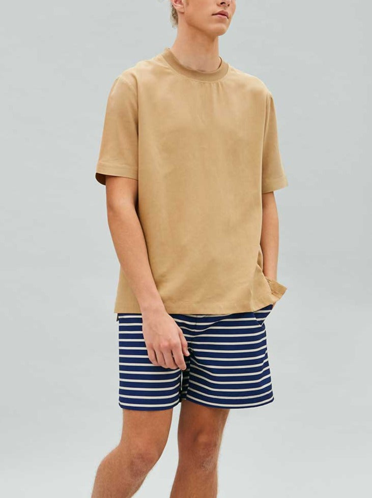Load image into Gallery viewer, Tencel Tailored Tee in Khaki