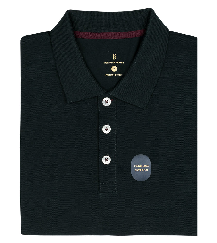Forest Polo Tee Folded