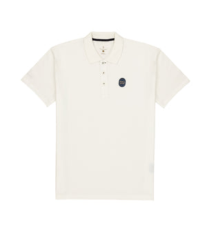 Load image into Gallery viewer, White Polo Tee Full
