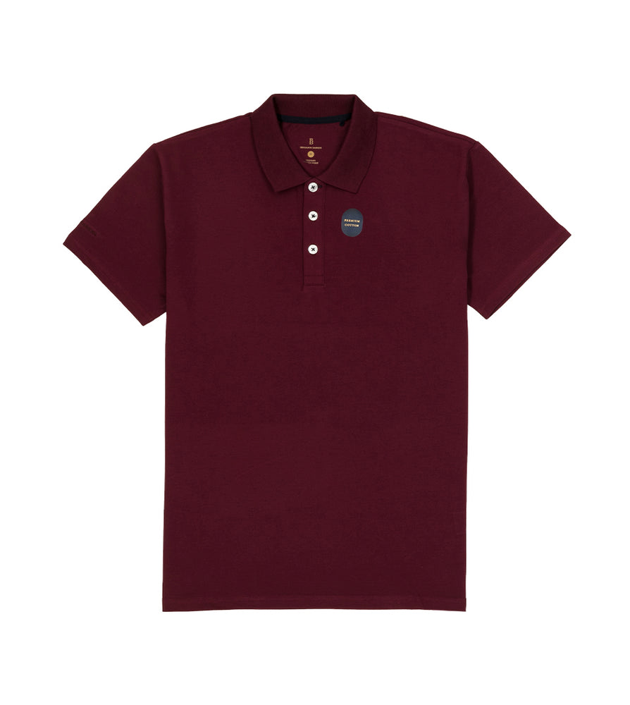 Maroon Polo Tee Full