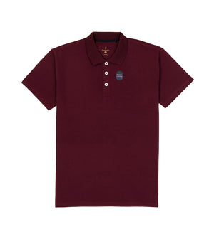 Load image into Gallery viewer, Maroon Polo Tee Full