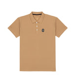 Khaki Polo Tee Full