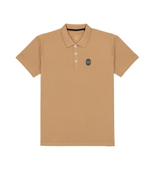 Load image into Gallery viewer,  Khaki Polo Tee Full