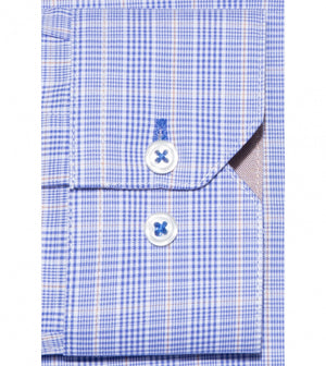 Load image into Gallery viewer, Motoji Easy Iron Glen Plaid Shirt