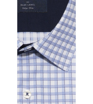 Load image into Gallery viewer, Yasai Easy Iron Check Shirt Folded Collar